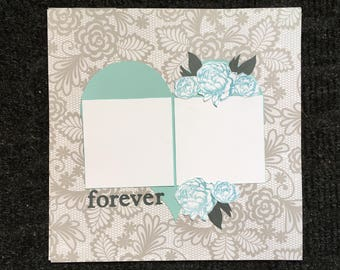 12x12 scrapbook page, predesigned scrapbook page, love scrapbook page, page layout, scrapbook layout