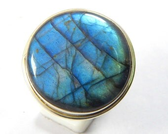 Labradorite ring,stone ring  silver ring, silver Labradorite ring, 92.5 sterling silver, Labradorite Silver Ring,Handmade Ring size us 9