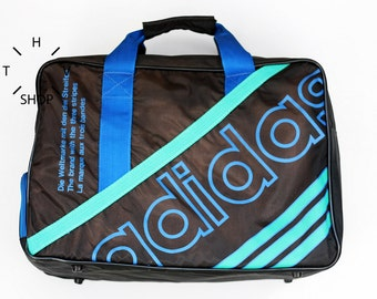 NOS Adidas Originals handbag / Unisex One Size gym bag / Rare collectors sports weekender luggage bag / Made in Korea 80s 90s