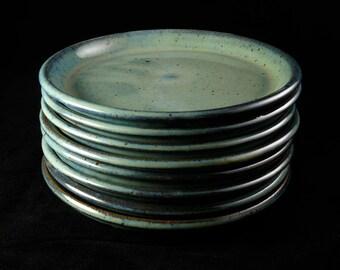 Handmade Stoneware Dessert Plate (Tomlin-Madden)