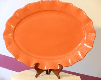Better Homes & Gardens Large Platter. Harvest Dried Peach.