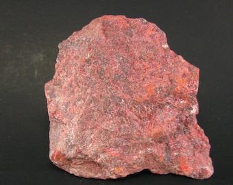 "Rare Red Cinnabar Cinabar Piece From Peru - 2.2"""