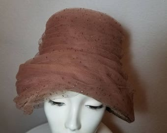 FREE  SHIPPING  1950  Beehive  Hat