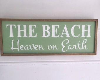 Beach Sign. Beach Cottage Decor. Beach House Decor. Wedding Gift for Beach Wedding. SHIPS within 24 HRS!