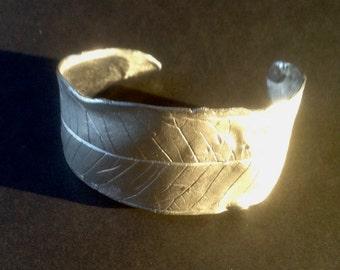 Sterling Silver Leaf Cuff Bracelet,leaf bracelet, silver bracelet, cuff bracelet,leaf cuff bracelet, silver cuff bracelet, sterling cuff