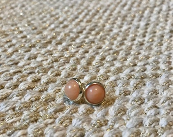 Aventurine Stone Stud Earrings