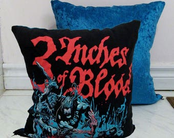 3 Inches of Blood Pillow DIY Heavy Metal Decor #1 (Cover Only; Insert Available)