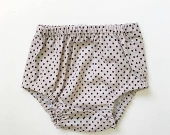 Bloomers in Fawn Polka Dots