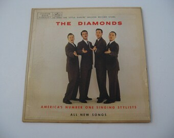 Rare Vinyl! -  The Diamonds - The Diamonds - Circa 1957