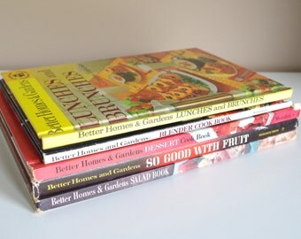 Vintage Better Homes & Gardens Cookbook Collection 1950s - 70s