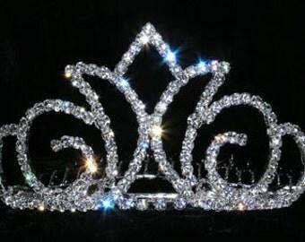 Style # 14837 - Radiant Crown Tiara Comb