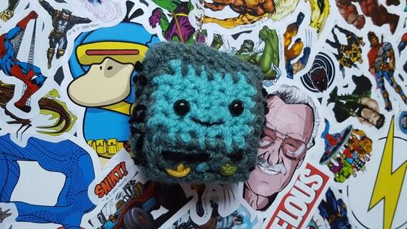 Adventure time BMO crochet amigurumi keyring bag charm crochet