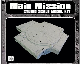 Space 1999 moonbase alpha main mission building prop model kit scifi retro
