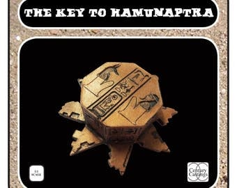 The key to Hamunaptra prop kit the mummy cosplay display