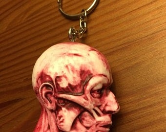 Anatomy Head Keychain