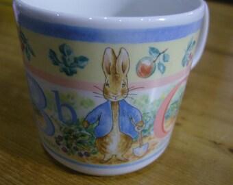 Peter Rabbit ABC Mug