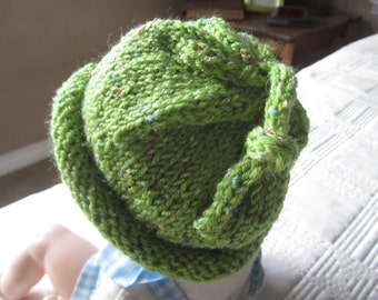 "Baby or Toddler 'Umbilical Cord""  Hat"
