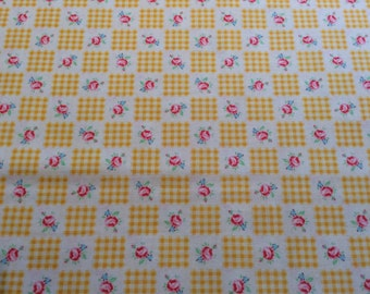 Half m Lecien Flower Sugar fabric