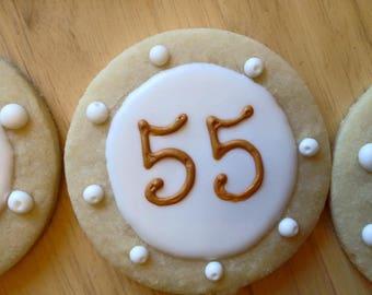 Anniversary Sugar Cookies