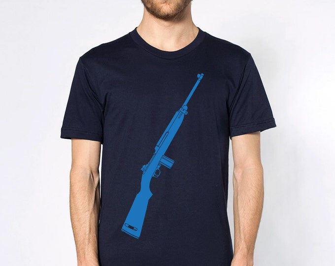 KillerBeeMoto: Limited Release M1 Garand World War Two Rifle Short or Long Sleeve T-Shirt