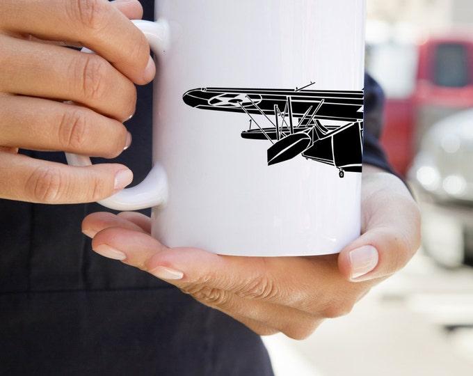 KillerBeeMoto: U.S. Made Coffee Mug Grumman G-21 Goose Seaplane Coffee Mug