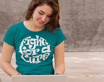 Cervical Cancer, Scleroderma, Dysautonomia, Myasthenia Gravis, Interstitial Cystitis, Ovarian Cancer, Teal Awareness Shirt