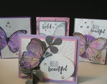Bold Wings Set of Four/Fun Stampers Journey