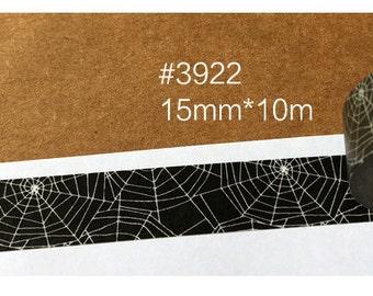 Spider  Washi Tape -- Masking Washi Tape -Deco tape-- 15mm x10M