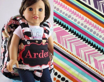 Darling and Doll Backpack in Aztec Multi