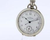 American Waltham Pocket Watch Chronograph