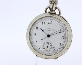 American Waltham Pocket Watch Chronograph