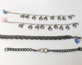 Variety Charm Chain Bracelets Cute Charm Jewelry