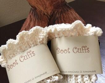Stylish boot cuffs, crochet boot cuffs, scalloped boot cuffs