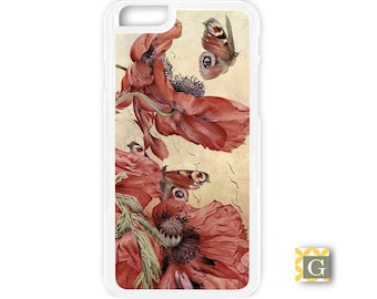 Galaxy S8 Case, S8 Plus Case, Galaxy S7 Case, Galaxy S7 Edge Case, Galaxy Note 5 Case, Galaxy S6 Case - Peonies, 1800's