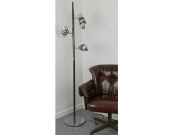floor lamp mid century modern cone lighting gerald thurston for lightolier 3 cone pole lamps light - Pole Lamps