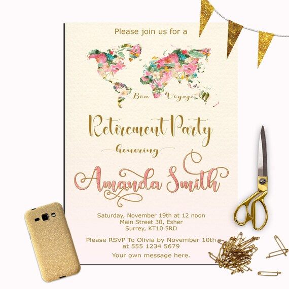 pensionierung einladung weibliche ruhestand partei einladung, Einladung