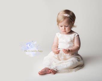 first birthday dress, baby dress, toddler dress, special occasion dress, flower girl dress, photography prop
