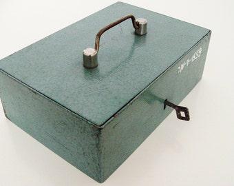 Vintage Metal Box  .