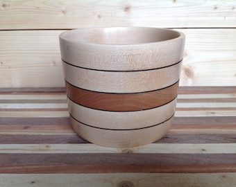 Wood Bowl handcrafted from Cherry- 17CH001