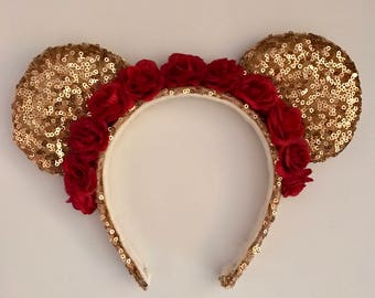 Belle Inspired Ears