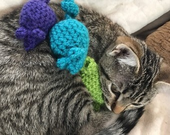 Crochet Catnip Mice 2pk