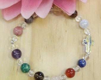 CHRONIC PAIN Bracelet, Pain bracelet,Gemstone bracelet,Chronic Pain Gemstone Healing bracelet,Gemstone jewelry,Healing jewelry