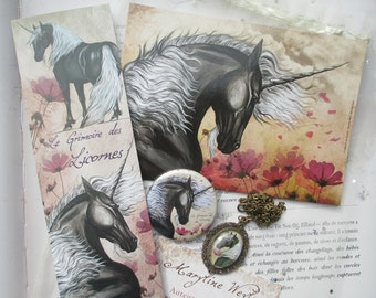 "pretty magical thing ""black Unicorn"""