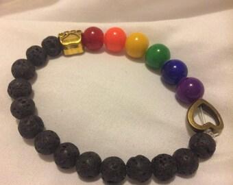 Rainbow Bridge Bracelet