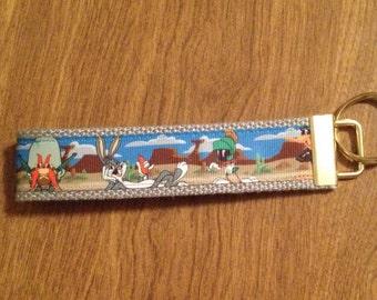 Bugs Bunny Wristlet Key Chain Zipper Pull