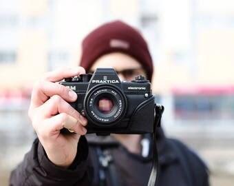 Vintage Praktica BM with Prakticar 50mm f2.4 Lens