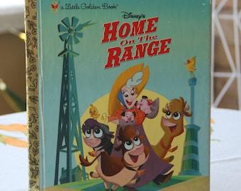 Little Golden book Disneys Home on the Range