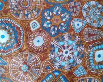 Vintage Waverly Bohemian Drapery Fabric 7+ Yards Unused