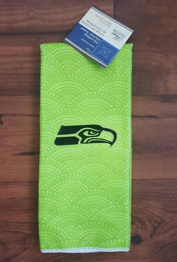 Seattle Seahawks Green Kitchen Towel