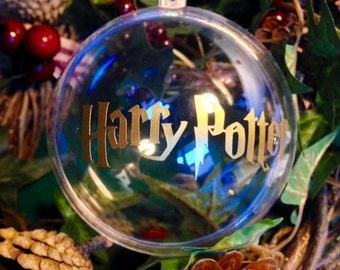 Harry Potter Inspired Christmas Tree Baubles